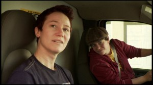 A scene from You Move Me - Tru and Dex in the u-haul